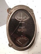 1924 25 26 27 28 29 Elgin Buick Chevrolet Gas Amp Oil Dash Gauge Panel 1920s