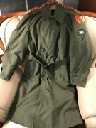 Air Defense Command Arad Wwii Us Army Air Field Manand039s Overcoat Small-short