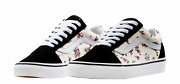 Womenand039s Old Skool Ditsy Floral Size 8 New Classic White Black Nib