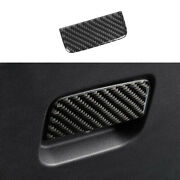 For Discovery Sport 2020-2021 Real Carbon Fiber Co-pilot Glove Boxes Handle Trim