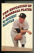 Education Of A Ball Player 1967-by Mickey Mantle -5th Printing-with Photos-fn