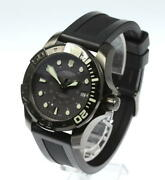 Victorinox Swiss Army Divemaster 500 241561 Black Dial Ss Automatic Watch Used