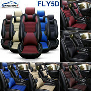 Auto Seat Covers For Waterproof Protector Cushion Front And Rear Leather Interior