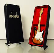 Buddy Holly -minature Replica Guitar With Guitar Stand