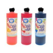 Hawaiian Shaved Ice Or Snow Syrup Flavor Pack 3 Pints Various Flavors Included