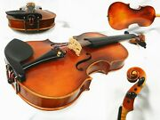 Old Antique German Violin 4/4 Size Labeled Free Shipping