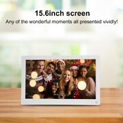 15.6in 169 19201280 1080p Body Induction Digital Photo Frame Forclock Calendar