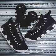 Nike Air More Money U.s Dollar Sign Black And White Size 8 Aj2998-001 Very Rare