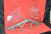 1964 1965 Chevelle Convertible Quarter Glass Lh Rh F85 Tempest Buick Special