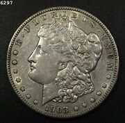 1903-s Morgan Silver Dollar Xf/au Free S/h After 1st Item