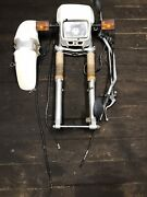 1987 Yamaha Tw200 Complete Front Fork Tube Assembly Complete 87 Trailway Maga