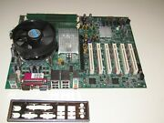 Ruby-9715vg2ar-n Industrial Motherboard Socket 775 With A Cpu And 2gb 6 Pci Slots