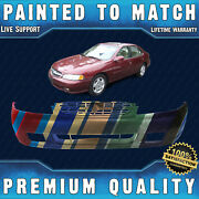 New Painted To Match Front Bumper Cover Fascia For 1998 1999 Nissan Altima W/fog