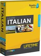 Rosetta Stone - Learn Unlimited Languages With Lifetime Access - Italian
