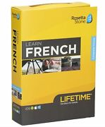 Rosetta Stone Learn French With Lifetime Access