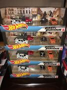4 Hot Wheels 164 Premium Case Fast And Furious