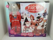 My Life As Rudolph Advent Calendar Reindeer Outfit For Doll Christmas 2020 New
