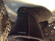 New Bearpaw Womens Suede Sherpa Lining Adele Boots 6