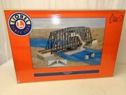 ✅lionel Operating Swing Bridge Accessory 6-24111 O Gauge Train Track Layout