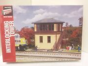 Walthers Interlocking Tower Plastic Building Kit 6 X 8 O Scale