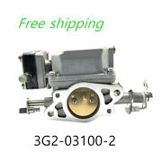3g2-03100-0 1 2 M Carburetor Carb Assy For Tohatsu Nissan Outboard 9.9hp - 18hp