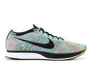 New Nike Flyknit Racer Multi Color 2.0 Size 10 526628 304