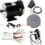 48v 1000w Electric Bicycle E-bike Scooter Brush Dc Motor Controller Chain Grips