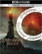 The Lord Of The Rings The Motion Picture Trilogy Dvd,2004 Trnbrn756531