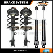 Front And Rear For 2002-2006 Nissan Altima Quick Complete Shock And Strut Assembly