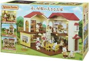 Epoch Sylvanian Families Big House With Red Roof 2 Story Doll House Dollhouse