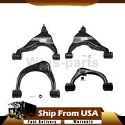Moog Front Upper Lower Suspension Control Arm And Ball Joint 4x For Toyota 4runner