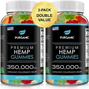Natural Gummies For Stress Relief - Great For Pain Insomnia And Anxiety - 120ct