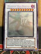 Yugioh Majestic Red Dragon Abpf-en040 Ghost Rare 1st Edition M/nm