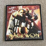 🔴 Raekwon Cuban Linx Signed Autographed Record Album Cover Wu-tang Ghostface