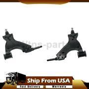Moog Front Lower Suspension Control Arm W/ Ball Joint 2x For Chevrolet Traverse