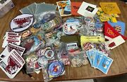Boy Scouts Badges, Collectibles And Memorabilia-- Giant Lot
