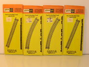 N Scale Atlas Curve Track 2510 And Straight Track 2501 Two Packs Each Nib