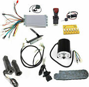 48v 1800w Brushless Motor Controller Pedal Charger Grips Wires Chain Switch Key