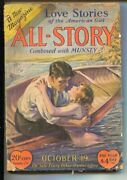 All-story Pulp 2 10/19/1929 -the Love Story Magazine -winsor Mccay