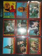 1973 Kung Fu Complete60 Card Set And Wrapper Topps High Grade