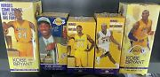 Kobe Bryant Bobbleheads X3 With 2 Stands Los Angeles Lakers Final Season