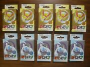 Set Of 10 Nintendo Poker Playing Cards 1999-pokemon Gold And Silver -sealed New