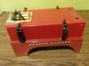 Vintage Nylint Fire Truck Bed For Parts