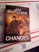 Jim Butcher Changes Novel Of The The Dresden Files First Edition Hardcover 2010