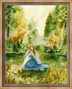 Counted Cross Stitch Kit Golden Fleece Pf-018 - The Call Of Music