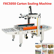 Fxc5050 Semi-automatic Carton Sealing Machinetape Sealer For Packaging Boxes