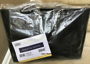 Dooney And Bourke Pebble Leather Large Ashton Tote In Black Factory Sealed