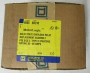 Square D Motorlogic Sr310 Solid State Overload Relay Size 3 Type S 30-90a