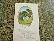 Lot Of 12 New Years And Thanksgiving Postcards Vintage Early 1900s Embossed Ca
