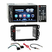 Concept Dvd Bluetooth Mirror Stereo Dash Kit Harness For Gm Buick Chevy Pontiac
